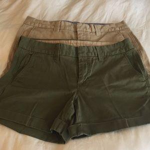 Banana Republic cotton shorts